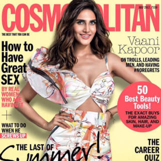 Vaani Kapoor On The Cover Of Cosmopolitan, July 2017