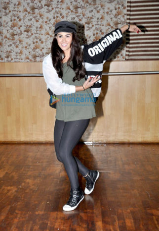 Lauren Gottlieb snapped at dance rehearsals