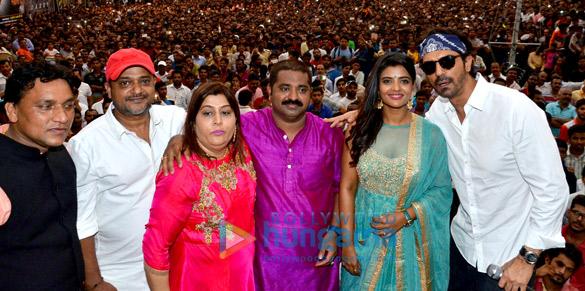 Arjun Rampal and Aishwarya Rajesh promote 'Daddy' at Dahi