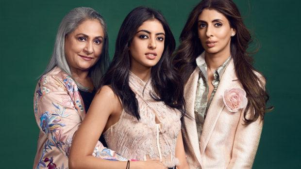 Jaya Bachchan, daughter Shweta Bachchan