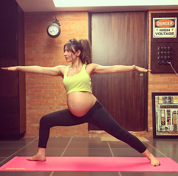 RESPECT: Pregnant Soha Ali Khan poses like a warrior; wins our hearts