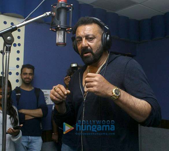 Sanjay Dutt records Ganesh Aarti for Bhoomi and here's a sneak peek