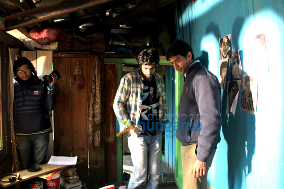 On The Sets Of The Movie Shreelancer