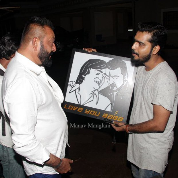 WOW! This special birthday gift for Sanjay Dutt by his fan ...