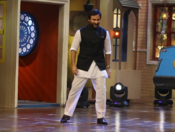 Saif Ali Khan promotes Chef on The Drama Company