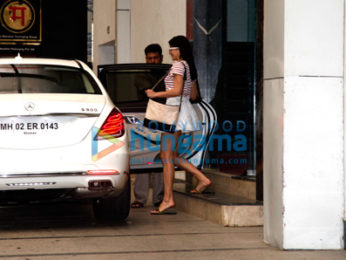 Jacqueline Fernandez post her gym session in Bandra