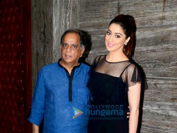Laxmi Rai and Pahlaj Nihalani grace the screening of the film Julie 2