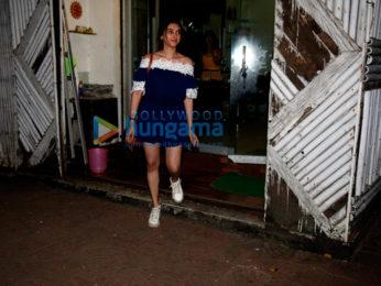 Aditi Rao Hydari snapped post salon session in Bandra