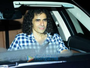 Aamir Khan, Alia Bhatt, Raju Hirani, Imtiaz Ali and Rana Daggubati arrive for Ranbir Kapoor's birthday bash