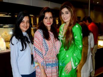 Sridevi, Ahan Shetty & Mana Shetty snapped at Araaish launch