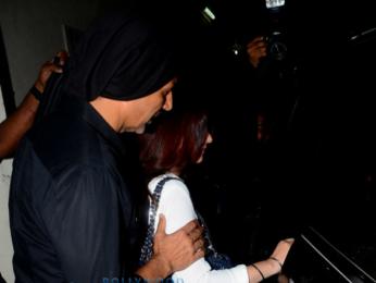 Akshay Kumar and Twinkle Khanna snapped at Juhu PVR