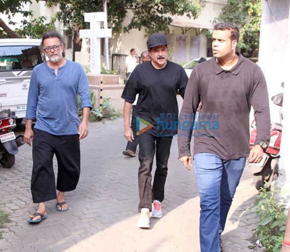 Anil Kapoor snapped at Rakeysh Omprakash Mehra's office