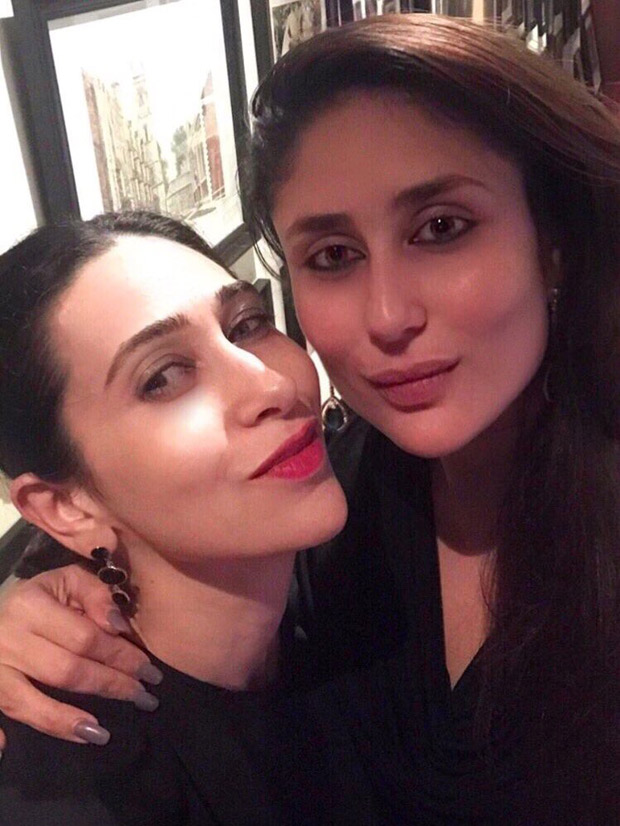 Check out Karisma Kapoor spends quality time on a dinner date with Kareena Kapoor Khan and Saif Ali Khan