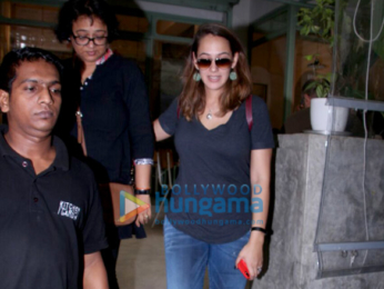 Hazel Keech spotted with her mom at The Kitchen Garden