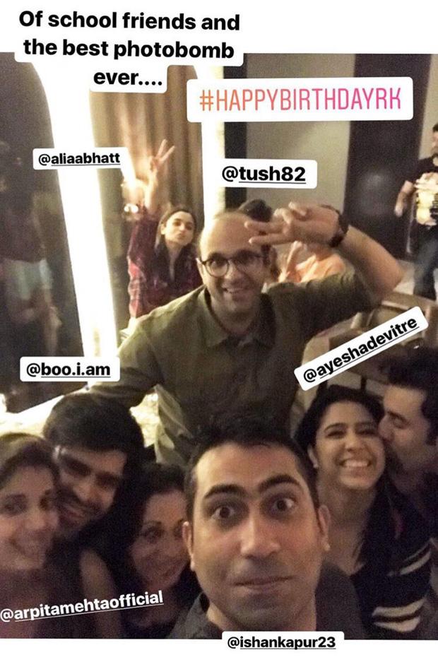 INSIDE PHOTOS Ranbir Kapoor celebrates his birthday with Karan Johar, Alia Bhatt and childhood friends! (3)