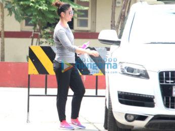 Kareena Kapoor Khan snapped leaving the gym