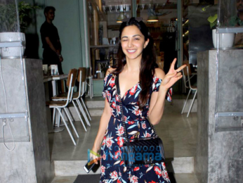 Kiara Advani and Sooraj Pancholi snapped at The Kitchen Garden