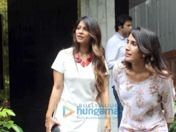 Tanishaa Mukerji, Bharat Takhtani, Malaika Arora and Amrita Arora spotted at Arth