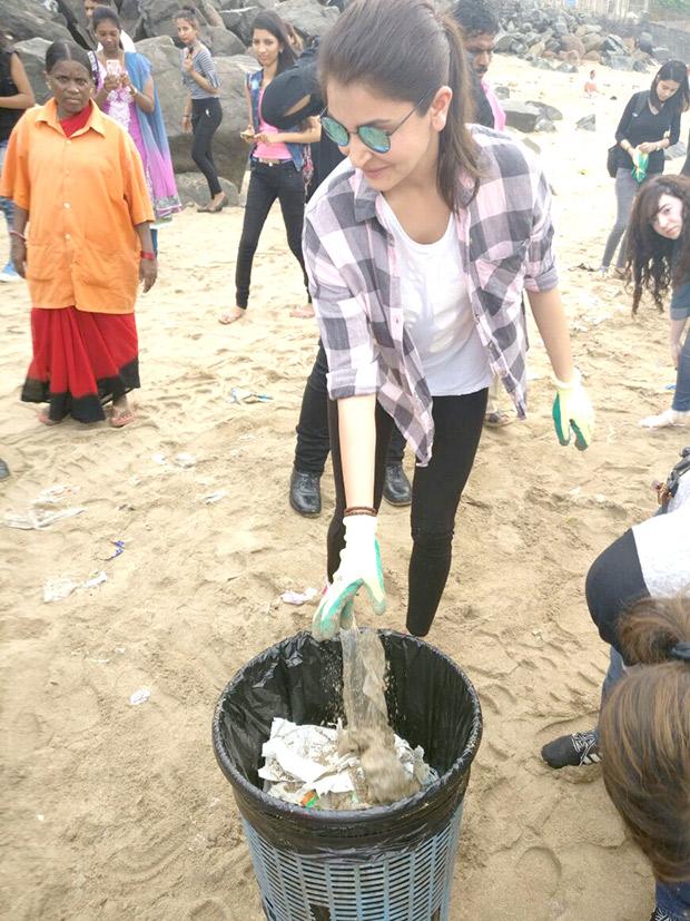 Versova beach for Swachh Bharat campaign