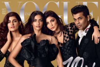 Twinkle Khanna, Sonam Kapoor, Anushka Sharma & Karan Johar On The Cover Of Vogue, Oct 2017