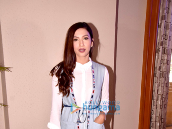 Gauhar Khan snapped at a fashion show at JW Marriot