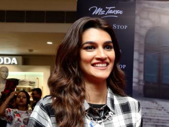 Kriti Sanon promotes 'Ms. Taken' collection of Shoppers Stop in Kolkata
