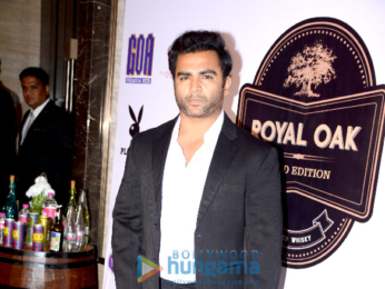 Sachin Joshi graces the launch of a new whiskey