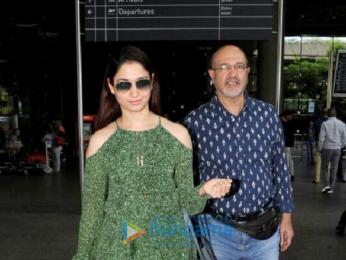 Tammanah Bhatia snapped at the airport