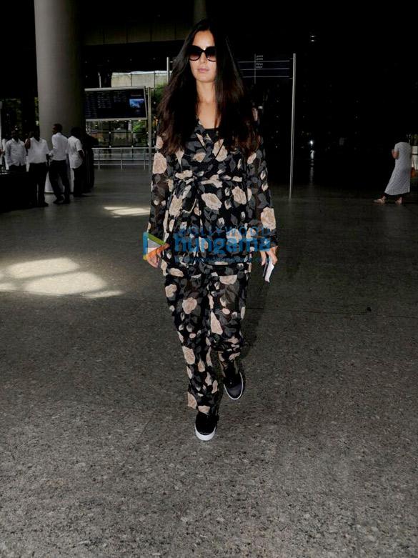 Katrina Kaif snapped arriving from London