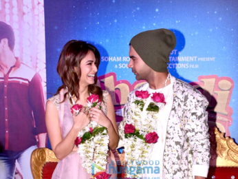 Launch of the trailer of the film Shaadi Mein Zaroor Aana