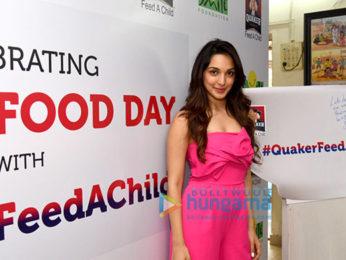 Kiara Advani promotes 'Quaker Feed A Child' initiative of Smile Foundation