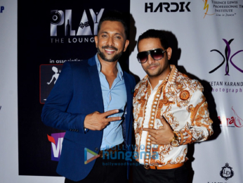 Terence Lewis, Arko Pravo Mukherjee, Lesle Lewis and many others at the grand finale of 'Karaoke World Championship India'