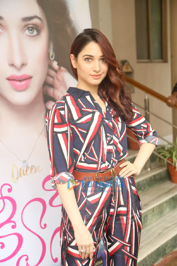 Tammanah Bhatia snapped attending a launch event