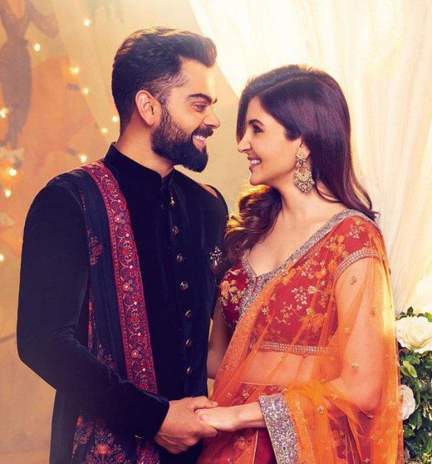 AWW! Anushka Sharma and Virat Kohli look so in love in this latest Manyavar ad