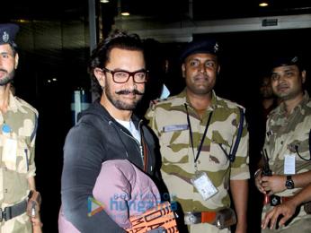 Aamir Khan, Rani Mukerji and Saif Ali Khan snapped at the airport