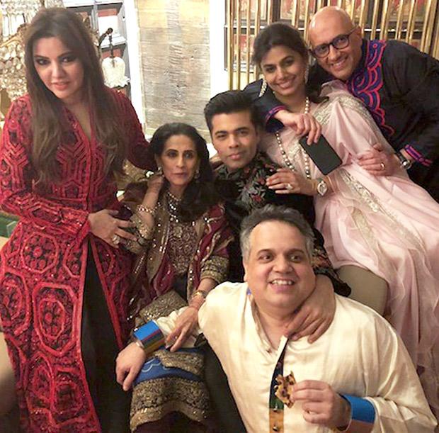 Karan Johar, Sara Ali Khan, Abhishek Bachchan and others celebrate Diwali at Abu Jani-Sandeep Khosla's bash