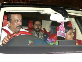 Aishwarya Rai Bachchan, Abhishek Bachchan snapped in Mumbai
