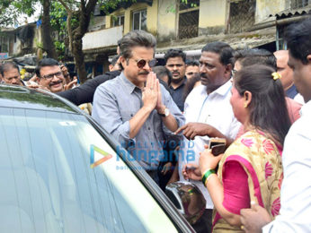 Anil Kapoor promotes Swacch Bharat initiative in Chembur, Mumbai