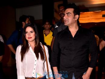 Arbaaz Khan and Zareen Khan grace the launch of the film 'Krina'