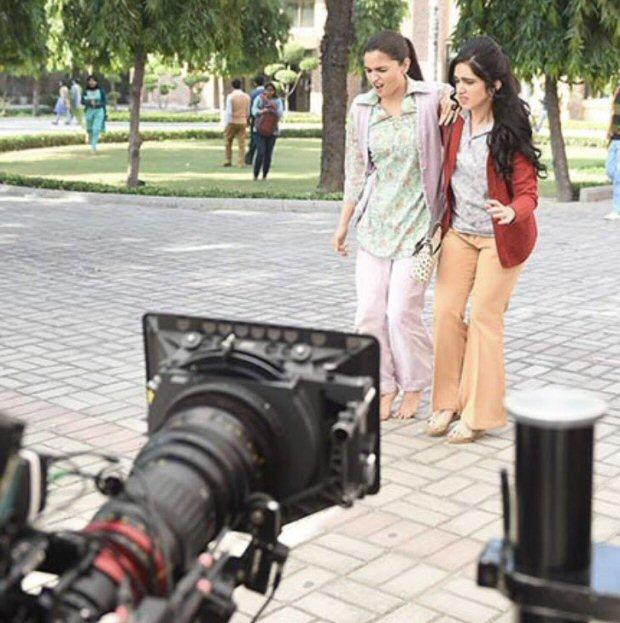 CHECK OUT: Alia Bhatt shoots for Raazi at the iconic Miranda House in Delhi