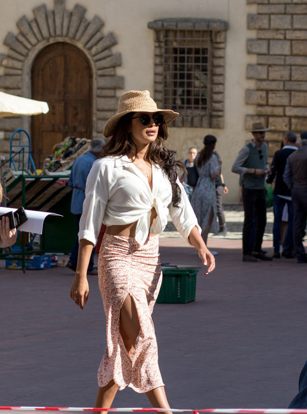 Check out Priyanka Chopra makes sstatement on the sets of Quantico season 3 in Italy