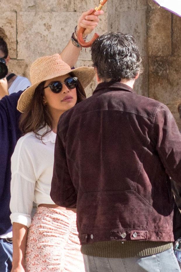 Check out Priyanka Chopra the sets of Quantico season 3 in Italy