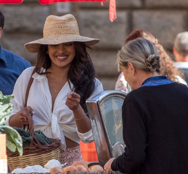 Check out Priyanka stunning style statement on the sets of Quantico season 3 in Italy