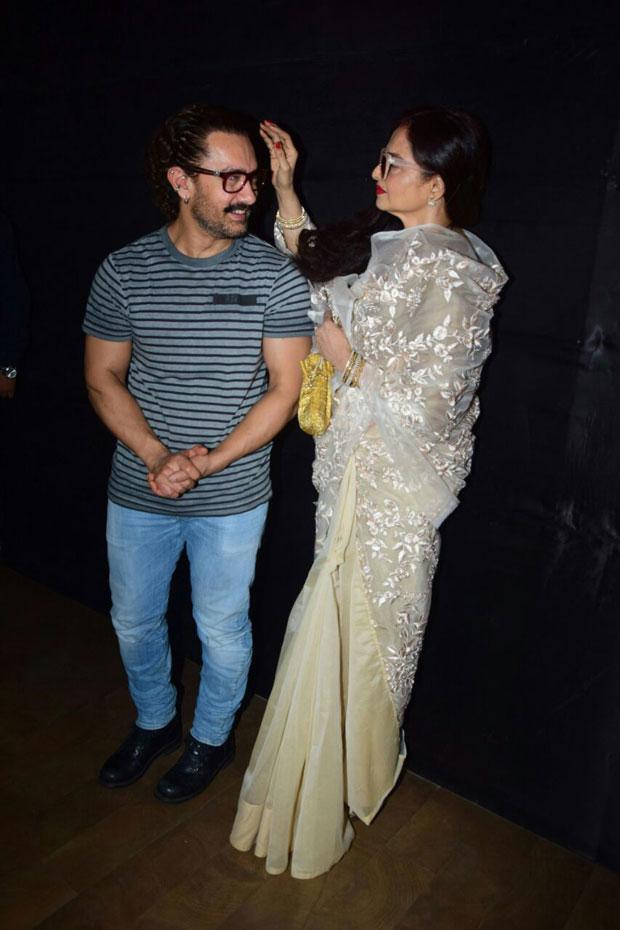DON'T MISS: Rekha's heartfelt reaction after watching Aamir Khan-starrer Secret Superstar