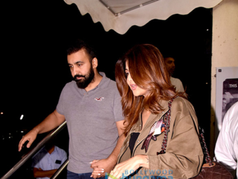 Shilpa Shetty Kundra and Raj Kundra spotted at PVR Juhu