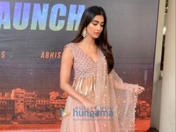 Pooja Hegde at the poster launch of Telugu movie 'Saakshyam'