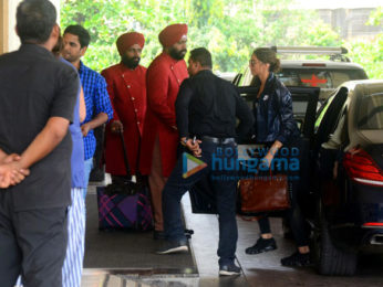 Deepika Padukone snapped at Taj Lands End in Bandra