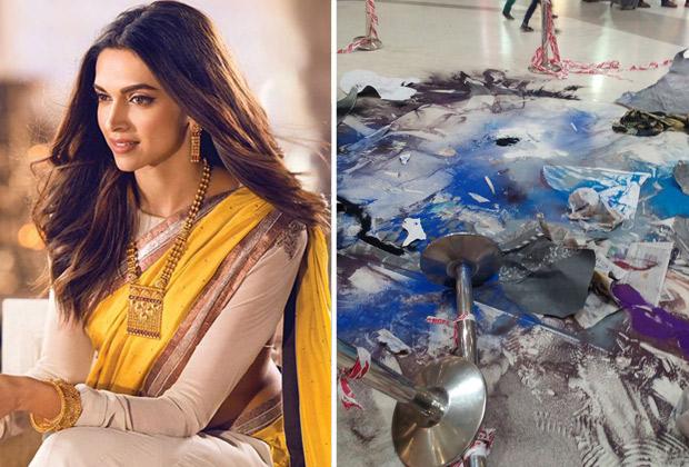 Deepika Padukone speaks out against goons who vandalized Padmavati-inspired rangoli