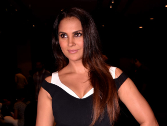 Esha Gupta and Lara Dutta at Miss Diva event