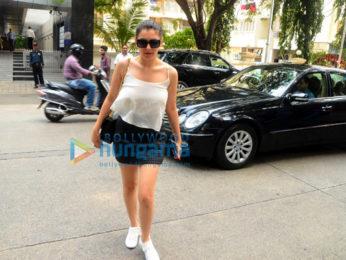 Hansika Motwani and Shraddha Kapoor snapped in Bandra